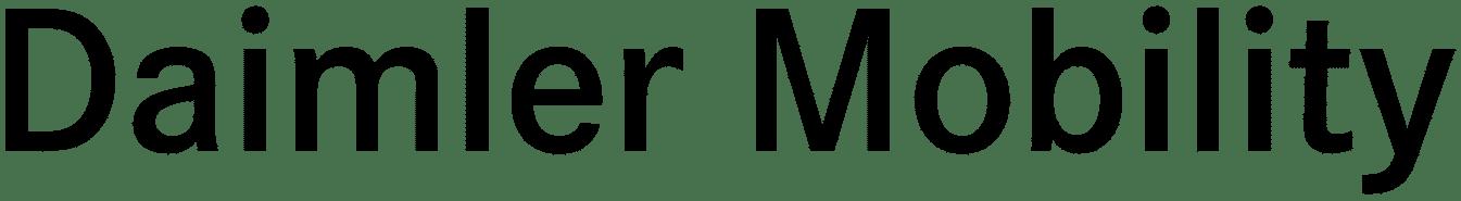 Logo Daimler Mobility AG